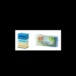 Eponge Bleu, Vert et Blanc