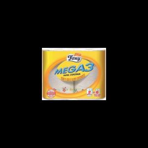 Papier Cuisine Mega3 2 Rouleaux