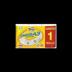 Papier Cuisine Mega3 5+1 Rouleaux